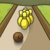 playing Banana Bowling game