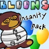 playing Bloons Insanity game