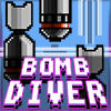 playing Bomb Diver game