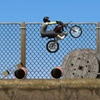 playing Construction Yard Bike game