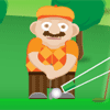 playing Cross Golf game