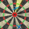playing Darts game