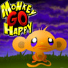 play Monkey go Happy game