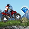 playing Mountain ATV game