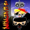 playing Ninja-Pi-Ro game
