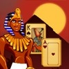 playing Pyramid Solitaire: Ancient Egypt game