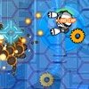 playing Robo Blast game