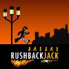 playing Rushback Jack game